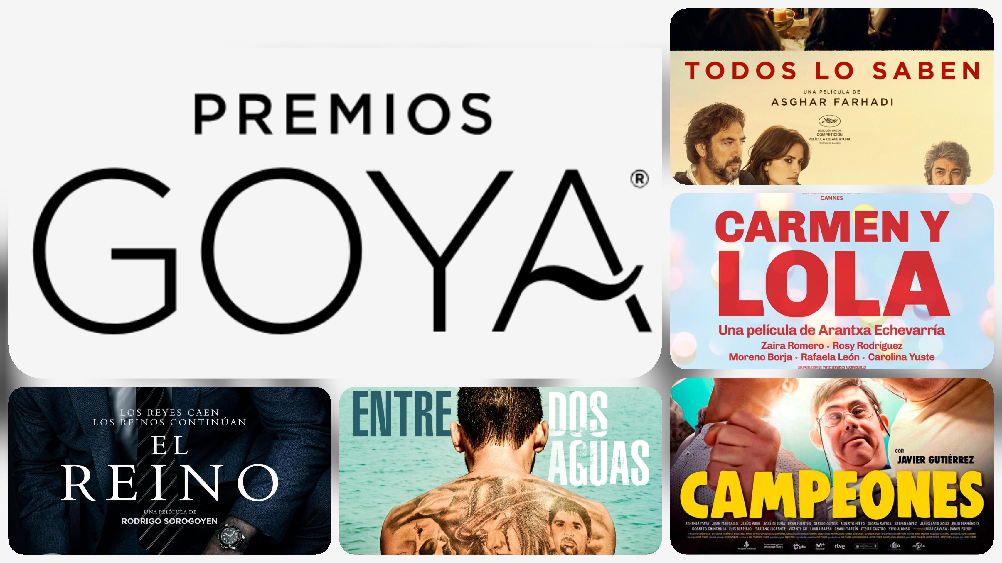 Las candidatas a los Goya desde la taquilla