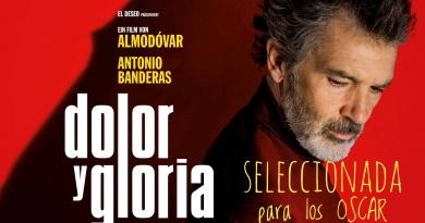 Dolor y Gloria es la representante española para los Oscar