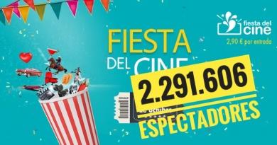 Fiesta del Cine: SEGUNDA MEJOR participación de la historia