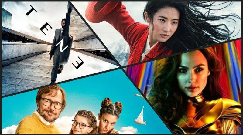 Estrenos más allá de la desescalada: Tenet, Mulán, Padre no hay más que uno 2 y Wonder Woman 1984