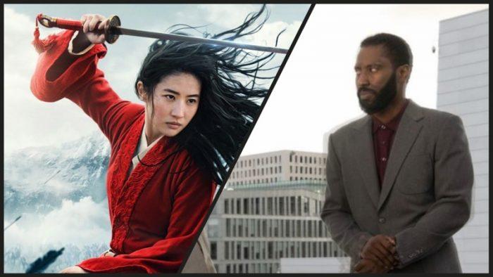 Los estrenos de Tenet y Mulán en julio se tambalean