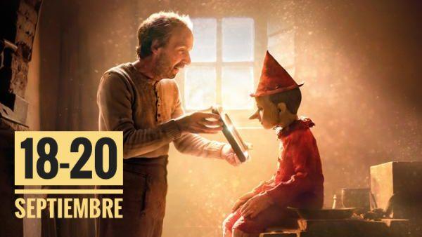 Top25 COMPLETO del 18 al 20 de septiembre de 2020: Pinocho