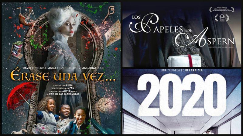 Estrenos: ÉRASE UNA VEZ…, LOS PAPELES DE ASPERN, 2020